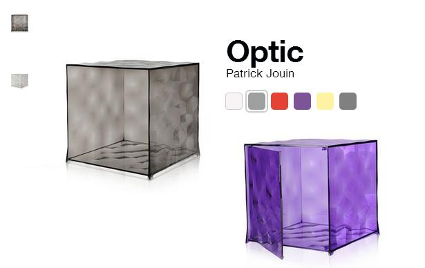 Kartell boites Optic